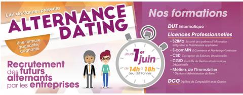 Alternance Dating 1er juin 2017 à l'IUT de Vannes